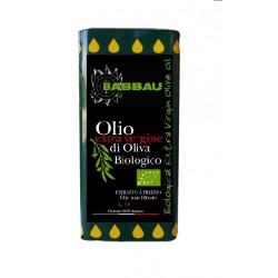5 Lt Tin Extra Virgin Olive Oil Babbau