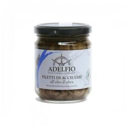Filetti di acciughe all'olio d'oliva