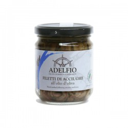 Filetti di acciughe all'olio d'oliva