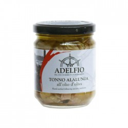 Alalunga Tonno with extra virgin olive oil