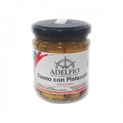 Thon à la pistache à l'huile d'olive