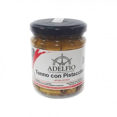 Tonno con pistacchio all'olio d'oliva