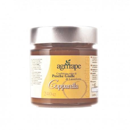 Copparella - Confettura extra di pesche gialle di Leonforte
