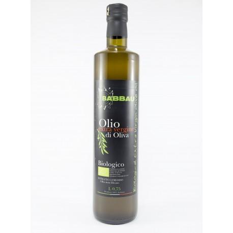 Olio Extra Vergine di Oliva Biologico Babbau