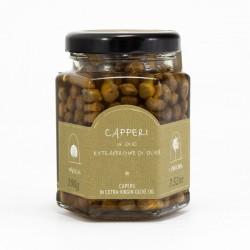 Câpres de Pantelleria à l'huile d'olive