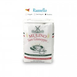Flour of durum wheat Sicilian Russello