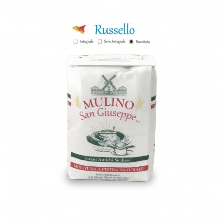 Flour of durum wheat Sicilian Russello