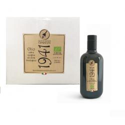 "6 Bouteilles Huile d'Olive Extra Vierge Biologique ""1941"""