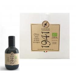 "12 Bouteilles Huile d'Olive Extra Vierge Biologique ""1941"""