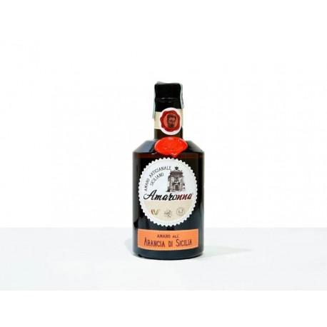 Amaro with Orange of Sicily