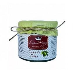 Grüne Oliven-Creme