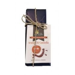 Schokolade von Modica Orange & Zimt