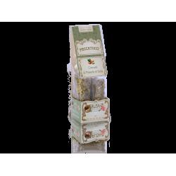 Peccatucci con pistacho de Sicilia