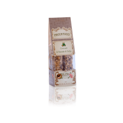 Peccatucci with Hazelnuts of Sicily
